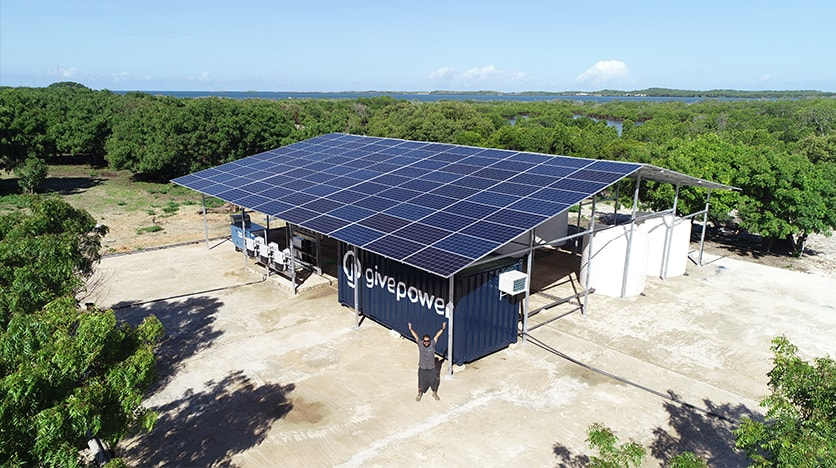 hayes barnard givepower solar water farm kenya